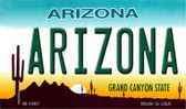 Arizona State License Plate Wholesale Magnet