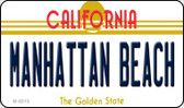 Manhattan Beach California State License Plate Wholesale Magnet