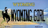 Wyoming Girl State License Plate Wholesale Magnet