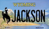 Jackson Wyoming State License Plate Wholesale Magnet
