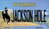 Jackson Hole Wyoming State License Plate Wholesale Magnet