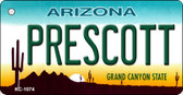 Prescott Arizona State License Plate Wholesale Key Chain