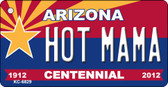 Hot Mama Arizona Centennial State License Plate Wholesale Key Chain