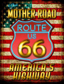 Mother Road Route 66 Parking Sign Wholesale Novelty P-1704