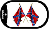 Confederate Waving Flags Dog Tag Kit Wholesale Novelty Necklace DT-2400