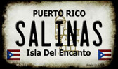 Salinas Puerto Rico State License Plate Wholesale Magnet M-2872