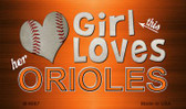 This Girl Loves Her Orioles Wholesale Magnet M-8067