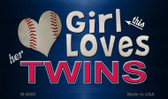 This Girl Loves Her Twins Wholesale Magnet M-8080