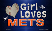 This Girl Loves Her Mets Wholesale Magnet M-8081