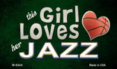 This Girl Loves Her Jazz Wholesale Magnet M-8444