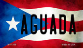 Aguada Puerto Rico State Flag Wholesale Magnet M-11316