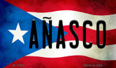 Anasco Puerto Rico State Flag Wholesale Magnet M-11320