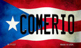 Comerio Puerto Rico State Flag Wholesale Magnet M-11337