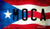 Moca Puerto Rico State Flag Wholesale Magnet M-11365