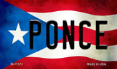 Ponce Puerto Rico State Flag Wholesale Magnet M-11372