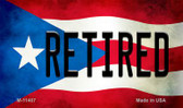 Retired Puerto Rico State Flag Wholesale Magnet M-11407