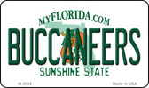 Buccaneers Florida State License Plate Wholesale Magnet M-2038