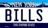 Bills New York State License Plate Wholesale Magnet M-2051