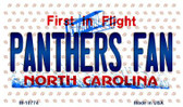 Panthers Fan North Carolina State License Plate Wholesale Magnet M-10774
