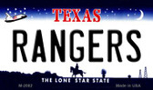 Rangers Texas State License Plate Wholesale Magnet M-2082