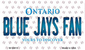 Blue Jays Fan Ontario State License Plate Wholesale Magnet M-10815