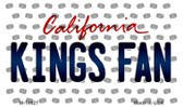 Kings Fan California State License Plate Wholesale Magnet M-10827