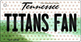 Titans Fan Tennessee State License Plate Wholesale Key Chain KC-10779