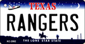 Rangers Texas State License Plate Wholesale Key Chain KC-2082
