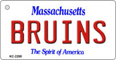 Bruins Massachusetts State License Plate Wholesale Key Chain KC-2288
