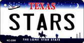 Stars Texas State License Plate Wholesale Key Chain KC-2300