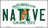 Native Florida State License Plate Wholesale Magnet M-6029