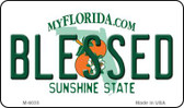 Blessed Florida State License Plate Wholesale Magnet M-6035