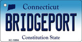 Bridgeport Connecticut State License Plate Wholesale Key Chain KC-10894