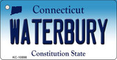 Waterbury Connecticut State License Plate Wholesale Key Chain KC-10898