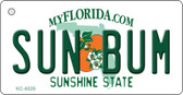 Sun Bum Florida State License Plate Wholesale Key Chain KC-6026