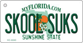Skool Suks Florida State License Plate Wholesale Key Chain KC-6040