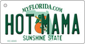 Hot Mama Florida State License Plate Wholesale Key Chain KC-6045