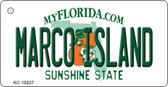 Marco Island Florida State License Plate Wholesale Key Chain M-10227