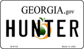 Hunter Georgia State License Plate Novelty Wholesale Magnet M-6154
