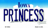 Princess Iowa State License Plate Novelty Wholesale Magnet M-10962