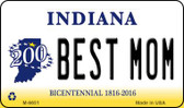 Best Mom Indiana State License Plate Novelty Wholesale Magnet M-6651