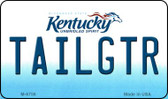 Tailgtr Kentucky State License Plate Novelty Wholesale Magnet M-6756