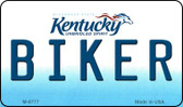 Biker Kentucky State License Plate Novelty Wholesale Magnet M-6777