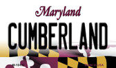 Cumberland Maryland State License Plate Wholesale Magnet