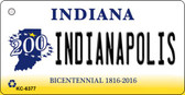 Indianapolis Indiana State License Plate Novelty Wholesale Key Chain KC-6377