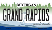 Grand Rapids Michigan State License Plate Novelty Wholesale Magnet M-6109