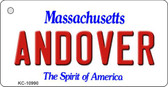 Andover Massachusetts State License Plate Wholesale Key Chain KC-10990