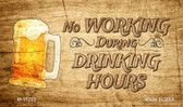 No Working During Drinking Hours Novelty Wholesale Magnet
