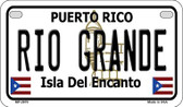 Rio Grande Puerto Rico State Wholesale Motorcycle License Plate MP-2870