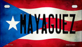 Mayaguez Puerto Rico State Flag License Plate Wholesale Motorcycle License Plate MP-11364